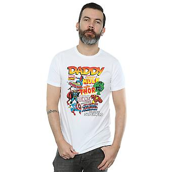 Marvel Men's Our Dad Superhero T-Shirt