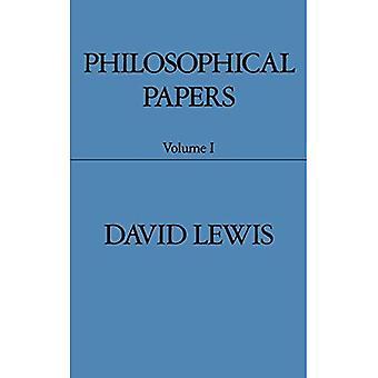 Carte filosofiche: Volume 1
