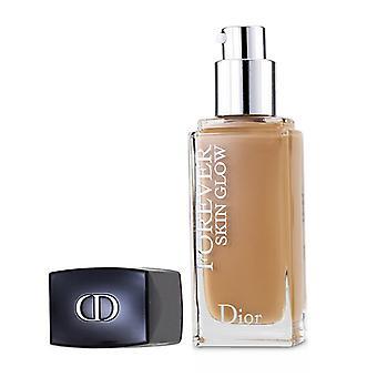 Кристиан Диор Dior Forever Skin Glow 24h Износ сияющее совершенство Фонд Spf 35 - No 4wp (теплый персик) - 30ml/1oz