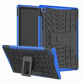 For Samsung Galaxy Tab A 10.1 T510/T515 2019 Hybrid Outdoor Case Blue Bag Cover Case