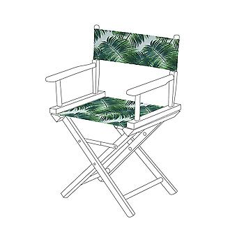 Gardenista® Palm Design Replacement Directors Chair Canvas Cover