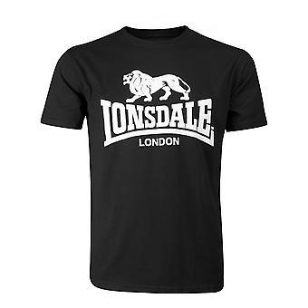 Lonsdale mens logotipo t-shirt