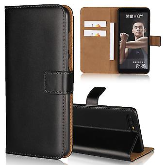 Wallet Case Honor V10/View 10, Genuine leather