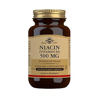 سولغار نياسين 500mg Vegicaps 100 (1851)