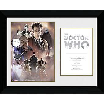 Doctor Who 10th Doctor David Tennant Framed Collector Print 40x30cm