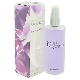 Byblos amethyste eau de toilette spray by byblos 499304 120 ml