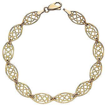 Elements Gold Filigree Tennis Bracelet - Gold