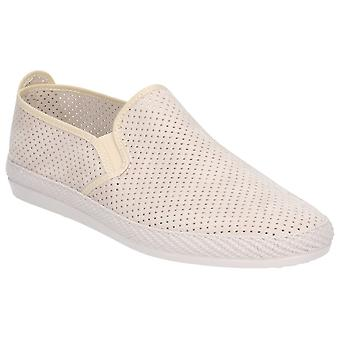 Flossy Mens Vendarval Slip On Shoe Beige