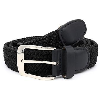 Duke Mens Simon Stretch Braided Belt