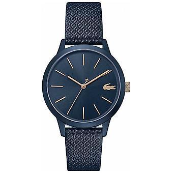 Lacoste 12.12 Women's | Blue Leather Strap | Blue Dial | 2001091 Watch