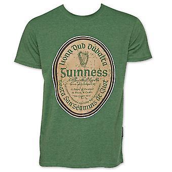 Guinness Beer Gaelic Label Shirt - Green