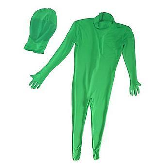 BRESSER BR-C2L tvådelade Chromakey grön kostym storlek: L
