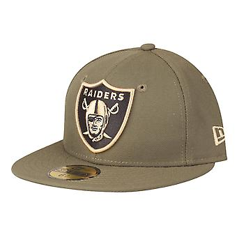 New Era 59Fifty Kids Cap - NFL Oakland Raiders olive