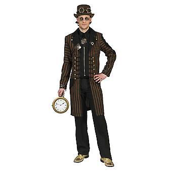 Steampunk Noble Explorer Homme Costume Inventeur Victorien Nobleman Costume Homme