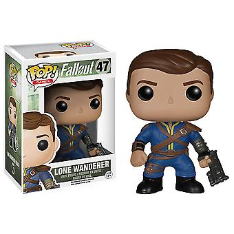 Fallout Lone Wanderer uros Pop! Vinyyli