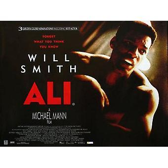 Ali (yksipuolinen) alkuperäinen elokuva teatteri juliste