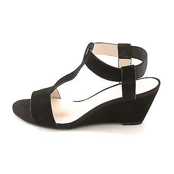 Kenneth Cole Naisten Donna Suede avoin toe rento nilkka hihna sandaalit