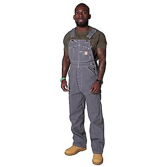 Berne american hickory stripe work dungarees