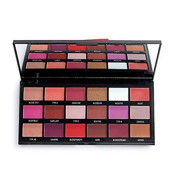 Make-up revolutie in hart revolutie bloed chocolade palet