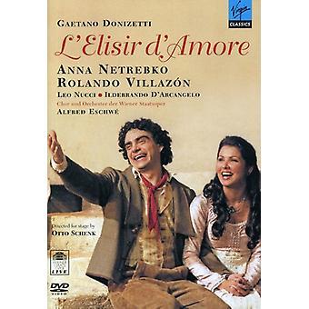 Donizetti: L'Elisir D'Amore [DVD] USA import