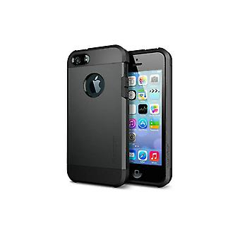 Iphone 5 5S Tough Armor Cover Case Black