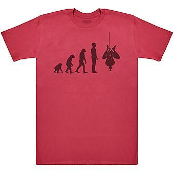 Evolution To Spider Man - Mens T-Shirt