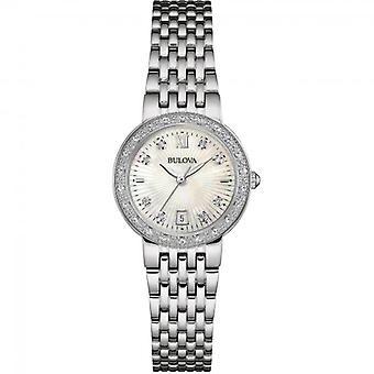 ブローバ 96W203 レディースダイヤモンド腕時計