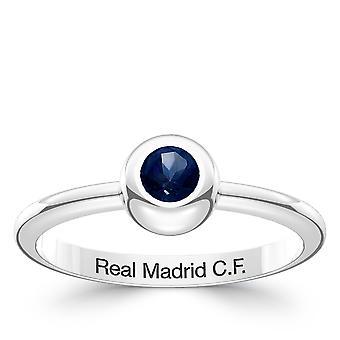 Real Madrid FC Sapphire ring i sterling sølv design af BIXLER