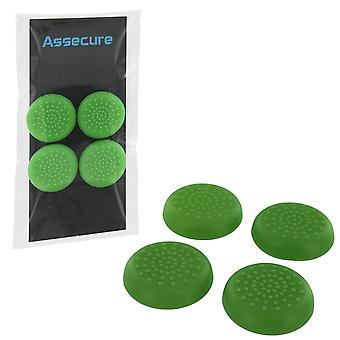 PS4 TPU Thumb Grips - Jogo PS4 assecure verde