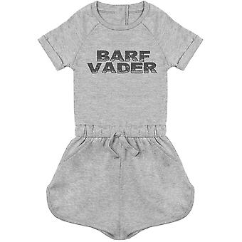 Barf Vader - Baby Playsuit