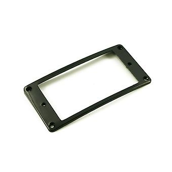 WD Musik Humbucker Montage Ring Low Black Arched