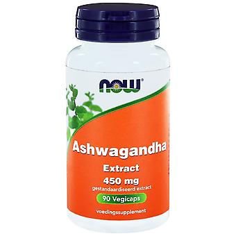 Ashwagandha Extract 450 mg (90 vegicaps) - NOW Foods