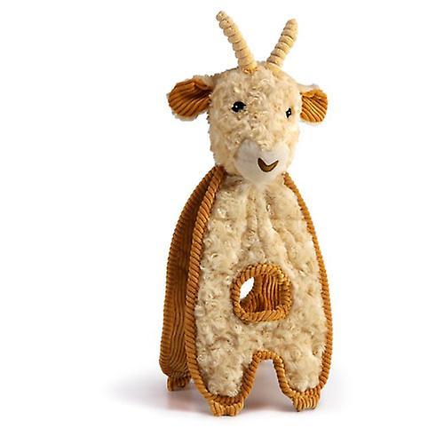 Charming Pet Cuddle Tugs Dog Squeak Toy - Goat