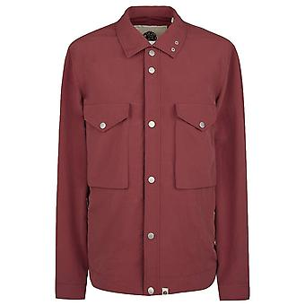 PRETTY GREEN Zip Through Nylon Overshirt