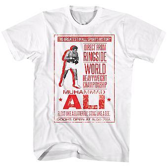 American Classics Muhammad Ali Poster T-Shirt - Natural