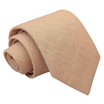 Guld Hopsack linned klassisk slips