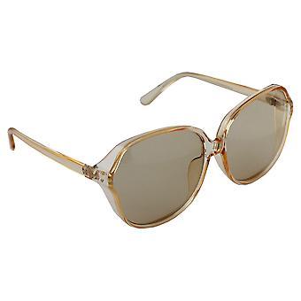 Sunglasses UV 400 Square Transparent Brown 2654_12654_1
