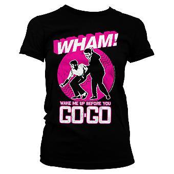 T-shirt officiel Wham George Michael Wake Me Up
