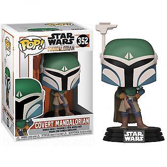 Star Wars Mandalorian Covert Mandalorian Funko Pop!