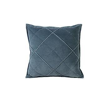 Light & Living Pillow 50x50cm Diamond Velvet Blue