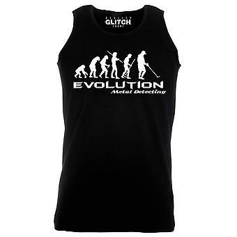 Reality glitch evolution of metal detector mens vest