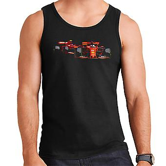 Motorsport Images Vettel Ferrari SF90 Leads Leclerc Men's Vest