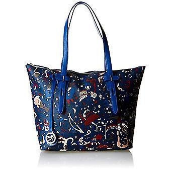 piero drive 213994088 Women's shoulder bag (Prussia Blue) 31.5x28.5x12.5 cm (W x H x L)