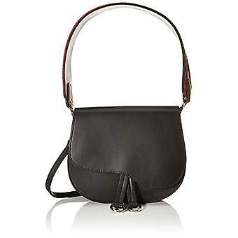 Unisa Zforzo.etnic_nt - Black Women's Shoulder Bags (Black) 23x18x6 cm (B x H T)
