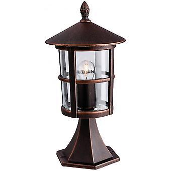 Firstlight Epoch Traditional Outdoor Bronze Pillar Top Lantern