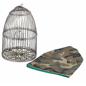 Yagu Camouflage Cage Partridge (Birds , Cages and aviaries , Cages)