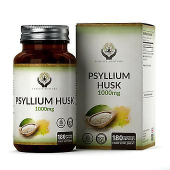 Earth's Nurture Psyllium Husk (500mg) Capsules