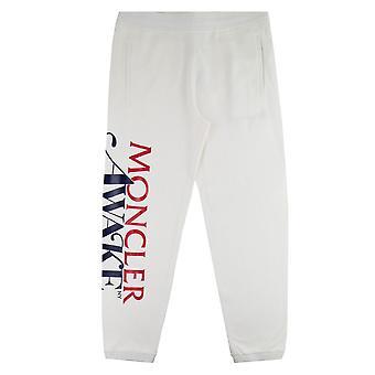 Moncler Genius 1952 X Awake NY Applied-logo Track Pants Off White 034