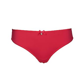After Eden D-Cup & Up 20.35.7520-056 Women's Granada Coral Pink Lace Panty Thong