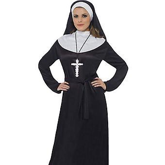 Nun Costume Adult Black